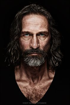 "♂ Man Portrait ""ivo"" by Robert Maschke"