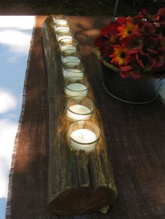 Table Branch Candle Centerpiece
