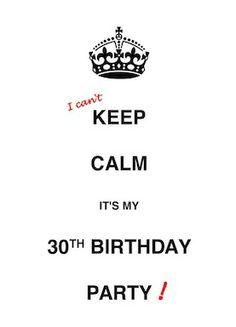 58 Meilleures Images Du Tableau 30th Birthday 30 Ans Ou Presque