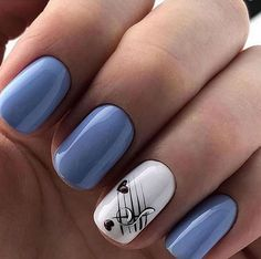 - 60 Lovely Designs for Acrylic Nails You Won't Resist These trendy Nail Designs ideas would gain you amazing compliments. Check out our gallery for more ideas these are trendy this year. Nail Polish Designs, Acrylic Nail Designs, Nail Art Designs, Nails Design, Stylish Nails, Trendy Nails, Cute Acrylic Nails, Cute Nails, Music Nails
