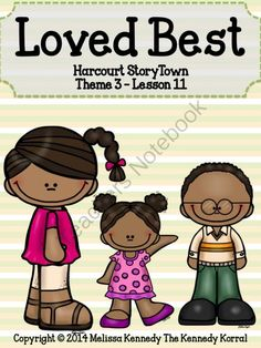 Loved Best - Harcourt StoryTown Lesson 11 Supplement from The Kennedy Korral on TeachersNotebook.com -  (50 pages)  - Loved Best - Harcourt StoryTown Lesson 11 Supplement