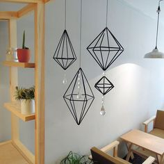 Paper Crafts Origami, Cardboard Crafts, Diy Home Crafts, Diy Arts And Crafts, Home Wall Decor, Diy Room Decor, Diy Straw, Wrought Iron Decor, Magazine Crafts