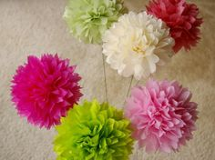 Flowerless Centerpieces | Posted by Curiosity Killed the Cat at 12:36 PM