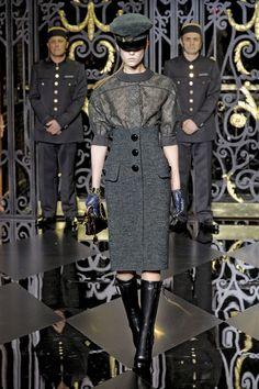 Louis Vuitton at Paris Fall 2011