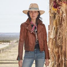 Get Dressed, Cowboy Hats, Most Beautiful, Handsome, Leather Jacket, Zip, My Style, Jackets, Outfits