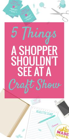 Although craft fairs