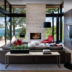 Concept of stone texture with flat wall surrounding