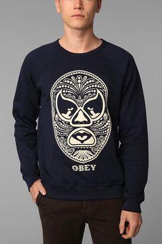 OBEY Luchador Crew Sweatshirt