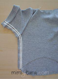 coser sueter perro