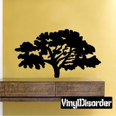 Tree Wall Decal - Vinyl Decal - Car Decal - 036