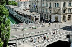 Plecnik's triple bridge and arcades in Ljubljana - magazine no. 18 - uncube