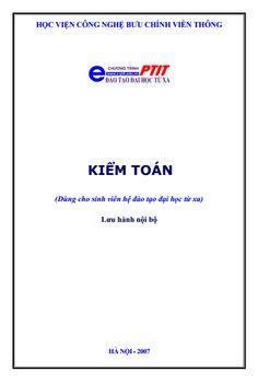 Bài giảng kiểm toán - PTIT - Đào tạo đại học từ xa - Download tại ->> http://khotrithuc.com/2352/Bai-giang-kiem-toan--PTIT--Dao-tao-dai-hoc-tu-xa.html