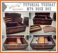 Create a custom Magic the Gathering Deck Box and Life Counter