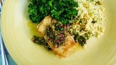 For Love of the Table: Two-Olive Sauce for Fish