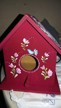 casa de passarinho pintura Bauer
