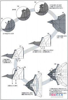 origami eagle 2 origami pinterest origami eagle origami and rh pinterest com