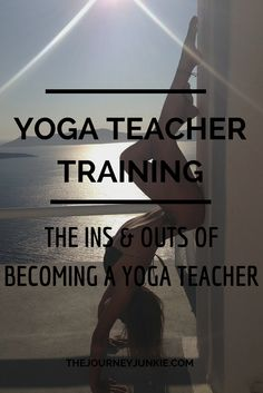 Interested in becoming a yoga teacher? Read this.