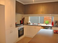 New kitchen with picture window. Old Reynella.