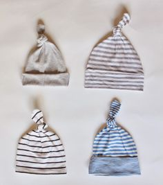 the glausers: T-shirt to baby beanie tutorial
