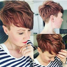 Best Womens Hairstyles For Fine Hair – HerHairdos Braids For Short Hair, Wavy Hair, Short Hair Cuts, Short Hair Styles, Pixie Cuts, Pixie Undercut, African Hairstyles, Cool Hairstyles, Korean Hairstyles