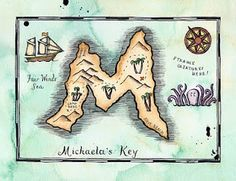 "Pirate Map #4.... use ""5"" or ""N"""