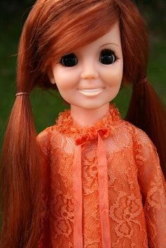 Wow-I got one of these when i was in 5th grade. Loved her! Crissy doll