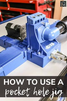 The Kreg Pocket Hole Jig is a must have for your woodworking hobby! Learn all the step and common FAQs in this article with video tutorial included! #FAQs #Kreg #woodworking Kreg Pocket Hole Jig, Pocket Hole Screws, Kreg Jig K5, Drill Guide, Woodworking Projects, Diy Projects, Joinery, Being Used, Workshop