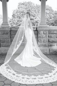 oversized veil