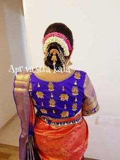 Especially bridal blouses Kids Blouse Designs, Silk Saree Blouse Designs, Bridal Blouse Designs, Blouse Neck Designs, Maggam Work Designs, Stylish Blouse Design, Beautiful Blouses, Work Blouse, Clothes For Women