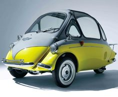 Big Boy Toys: 1962 Heinkel Trojan 200 – MAN of the WORLD Online Destination for Men's Lifestyle