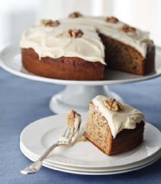 Barefoot Contessa - Recipes - Old-Fashioned Banana Cake  Erin doesn't ask for many cakes, but she saw this and wants me to make it for her. Looks easy enough for her to make.