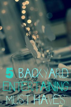 Turn your own backyard into the perfect party space with these easy inspirations! #ebaystars #ad