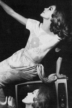 60s-70svogue:  Vogue UK, March 1967 - Francoise Dorleac photographed by Helmut Newton