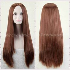 75cm Long Straight Stylish Women Lady Anime Heat Resistant Cosplay Wig Wigs New | eBay