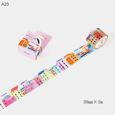 Modern Life is. Creative City Life Washi Tape for DIY Scrapbooking and Office School Supplies Cute School Supplies, Office And School Supplies, Washi Tape Crafts, Washi Tapes, Vsco, Decorative Tape, Planner Decorating, Cute Stationery, Diy Scrapbook