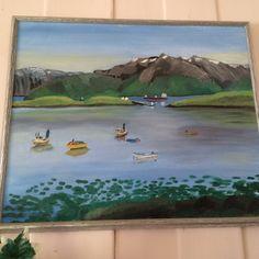 Motiv fra Ofotfjorden, Evenes