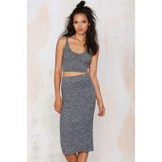 J.O.A. My Way Sweater Skirt