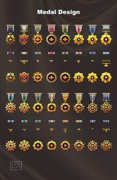 Medal Design : Medal...: