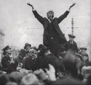 "James Larkin - Irish trade union leader fought for the rights of the workers. ""The great only appear great because we are on our knees, let us rise!"