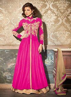 Priyanka Chopra Rani Pink Long Choli Lehenga
