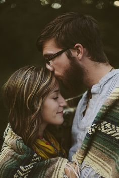 Kisses on the forehead are so much sweeter once you don't have them in your life anymore.