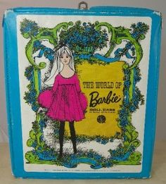 Barbie case.  My girls had this.