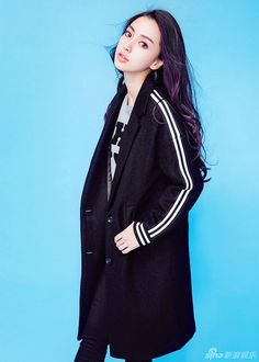 Hong Kong actress Angelababy  http://www.chinaentertainmentnews.com/2015/11/angelababy-releases-new-fashion-shoots.html