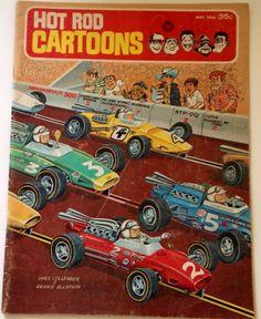 Hot Rod Cartoons #10 Issue May 1966 Car Comic Book #Magazine #HotRod