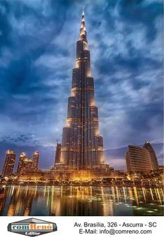 Burj khalifa, Dubai Se você navega na Internet atrás de coisas bonitas e interessantes, visite o Pinterest em: http://www.pinterest.com/comreno/ Veja também...  Como Promover o seu Site com o Pinterest em,,, http://www.comreno.com/#!promova-seu-site/c1w3i