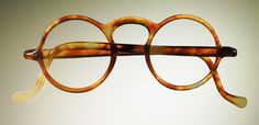 Celluloid eyeglass frames from the 1930's