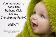 Available for Christening Parties!