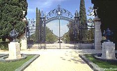 Amelia Collins Gate Bahji in Israel
