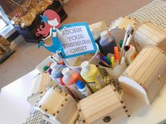 Adorn Your Treasure Chest: Activities for a Mermaid or Pirate birthday party