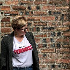 "Ania na Instagramie: ""I truly believe in that #weallshouldbefeminists #curvyfashion #curvywomen #curvyfashionista #plussize #plussizefashion #thsirt #slogantees…"""
